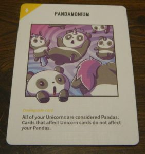 Downgrade Card in Unstable Unicorns