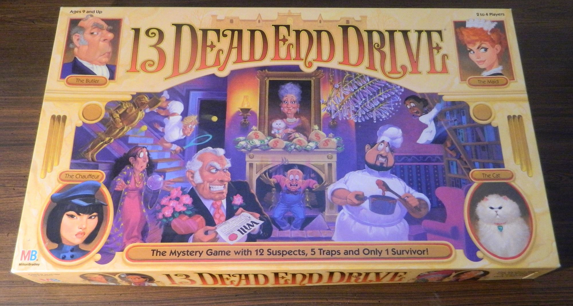 Box for 13 Dead End Drive