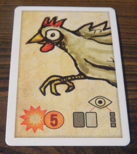 Chicken Card in Bomb Squad Academy