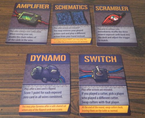 Item Cards in Bomb Squad Academy