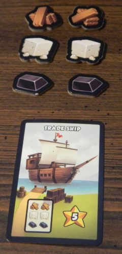 Trade Ship in Dice City