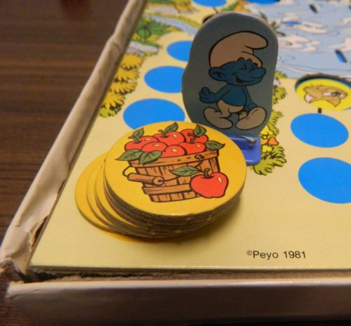 Food Basket in the Smurf Board Game