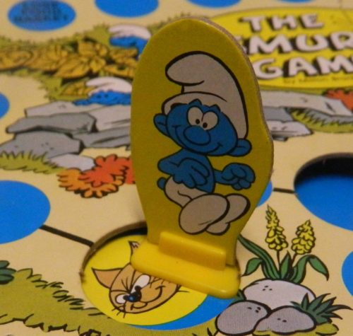 Lose Food in the Smurf Board Game