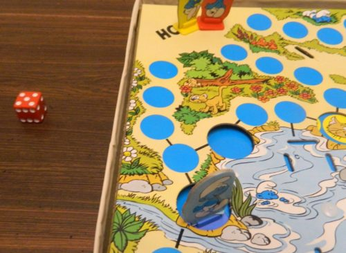 Movement in the Smurf Board Game