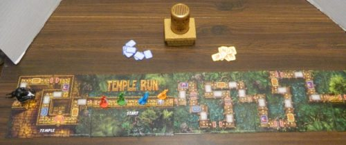 Setup for Temple Run Danger Chase