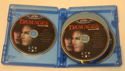 Damages The Complete Series Blu-ray Packaging