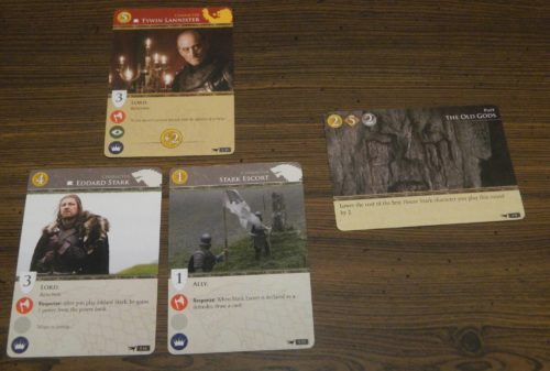 Challenge in Game of Thrones Card Game