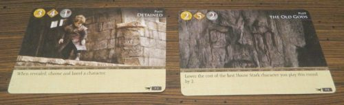 Chosen Plot Cards in Game of Thrones Card Game