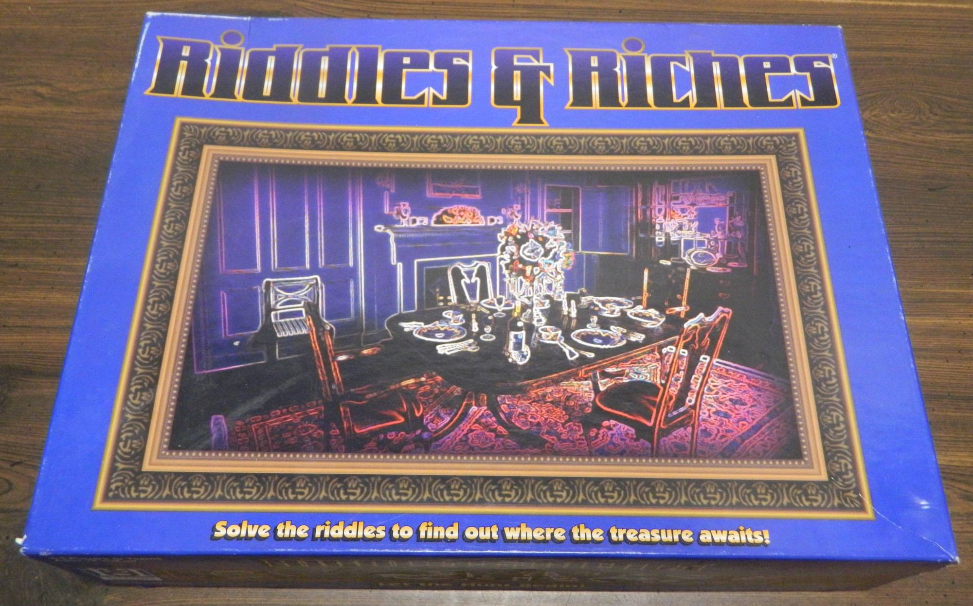 Box for Riddles & Riches