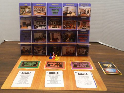 Setup for Riddles & Riches