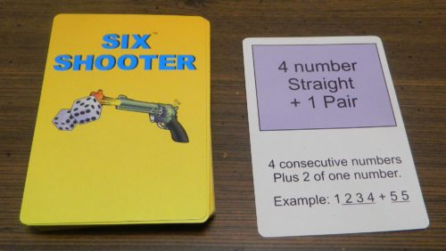 Card in Six Shooter