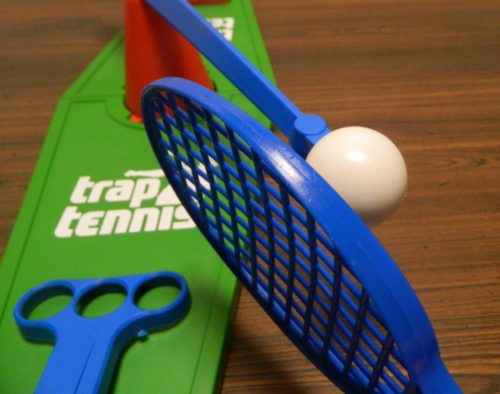 Hit Ball in Trap Tennis