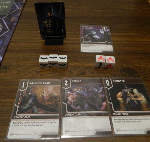 Counter Card in Batman Arkham City Escape