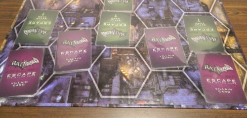 Place Villain Cards in Batman Arkham City Escape