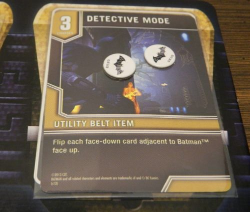 Utility Belt Card in Batman Arkham City Escape