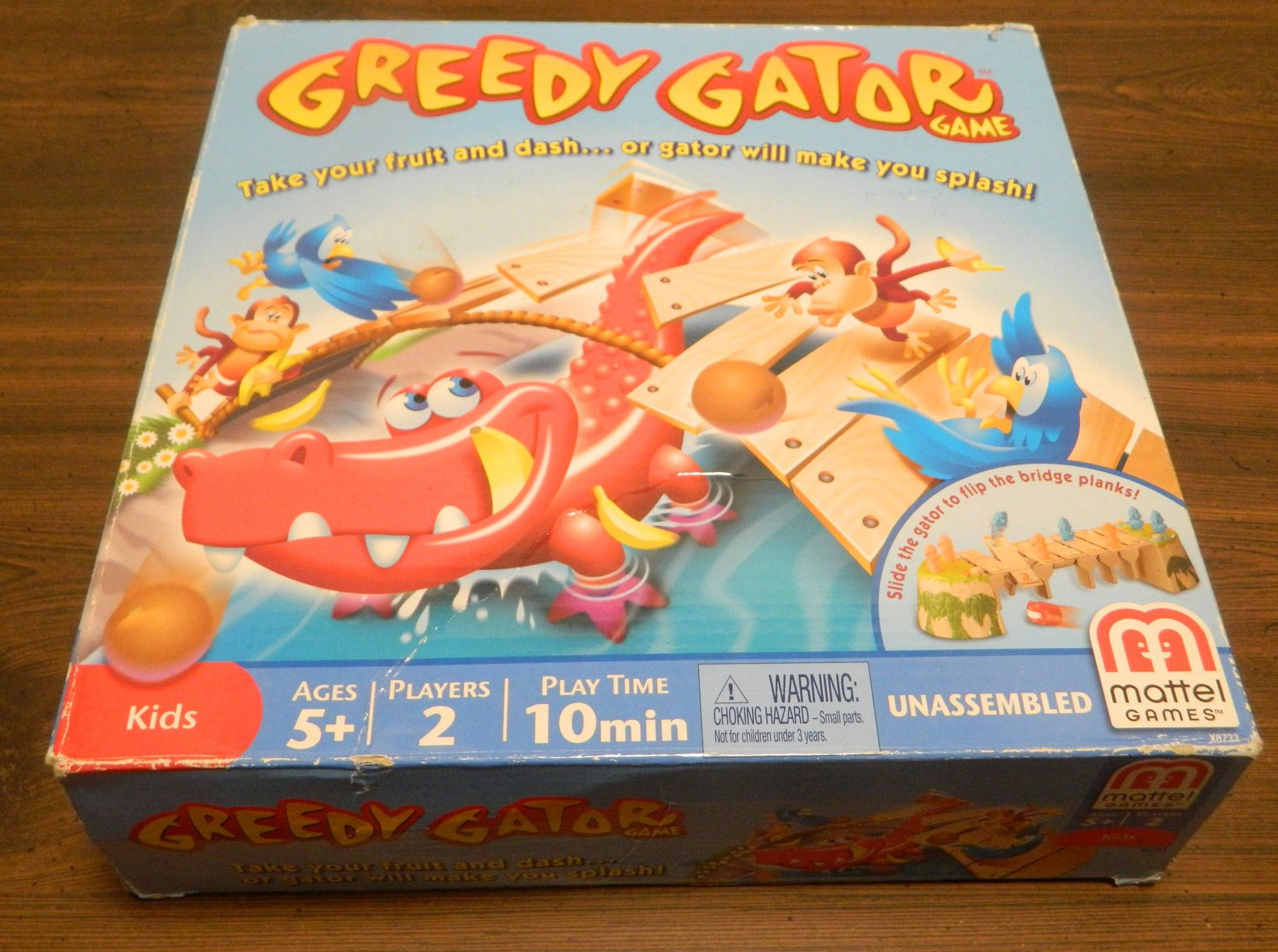 Box for Greedy Gator