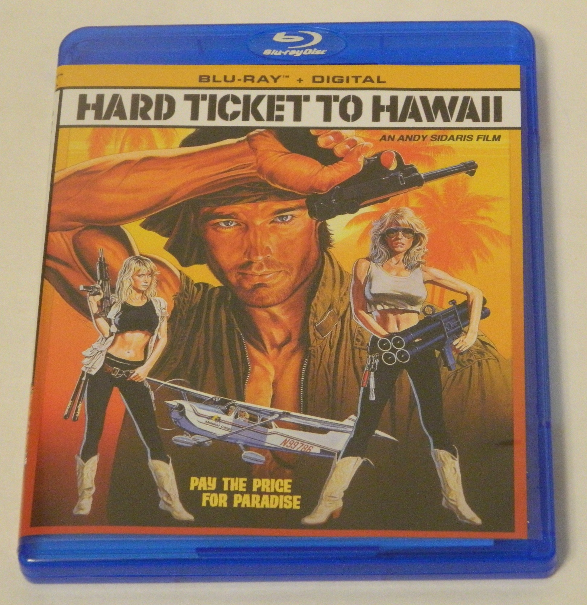 Hard Ticket to Hawaii Blu-ray