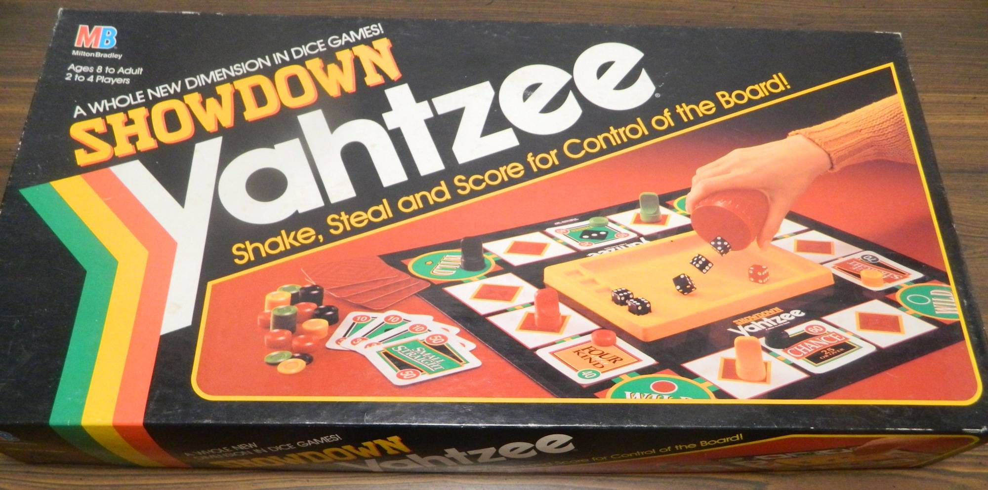 Box for Showdown Yahtzee