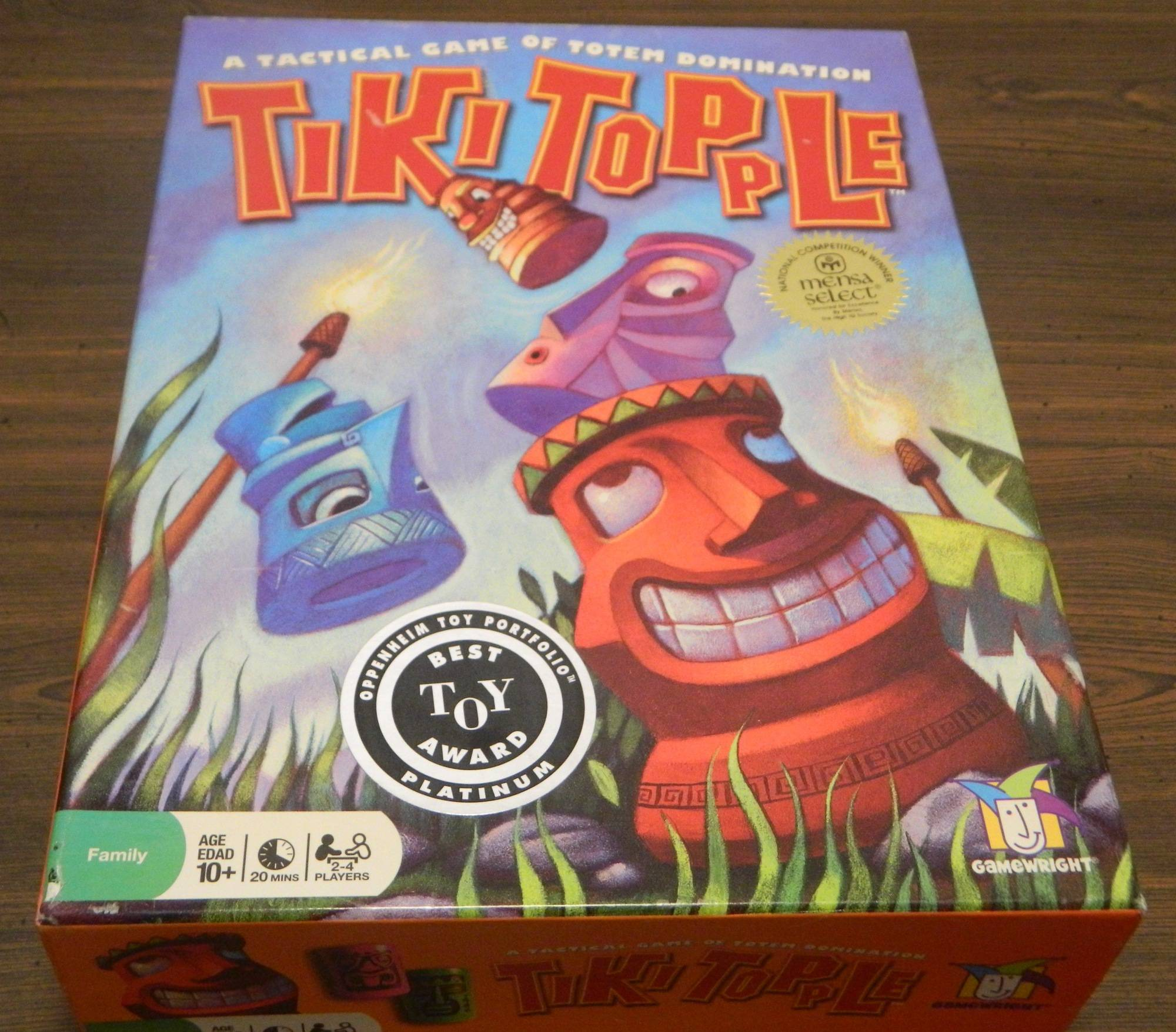 Box for Tiki Topple