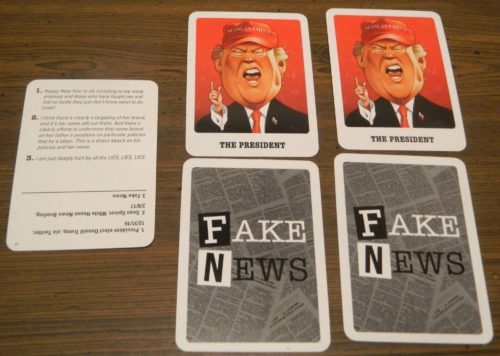 Playing Cards in Fake New Real News