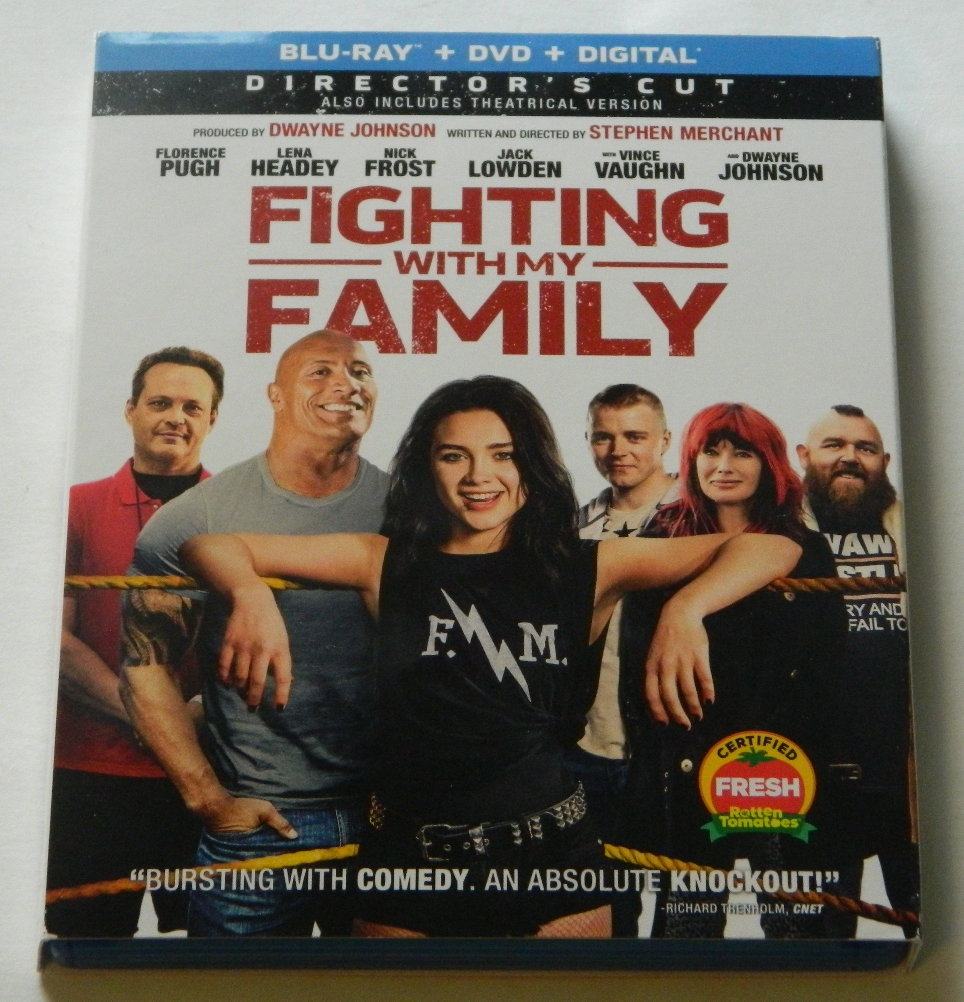 Fighting with My Family Blu-ray
