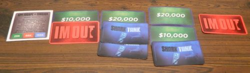 Second Round of Bidding in Shark Tank The Game