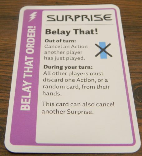 Surprise Card in Star Trek Deep Space Nine Fluxx