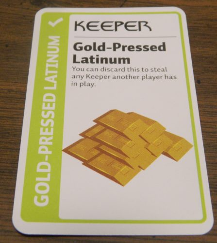 Keeper Card in Star Trek Deep Space Nine