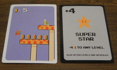 Play An Item Card in Super Mario Bros. Power Up Card Game