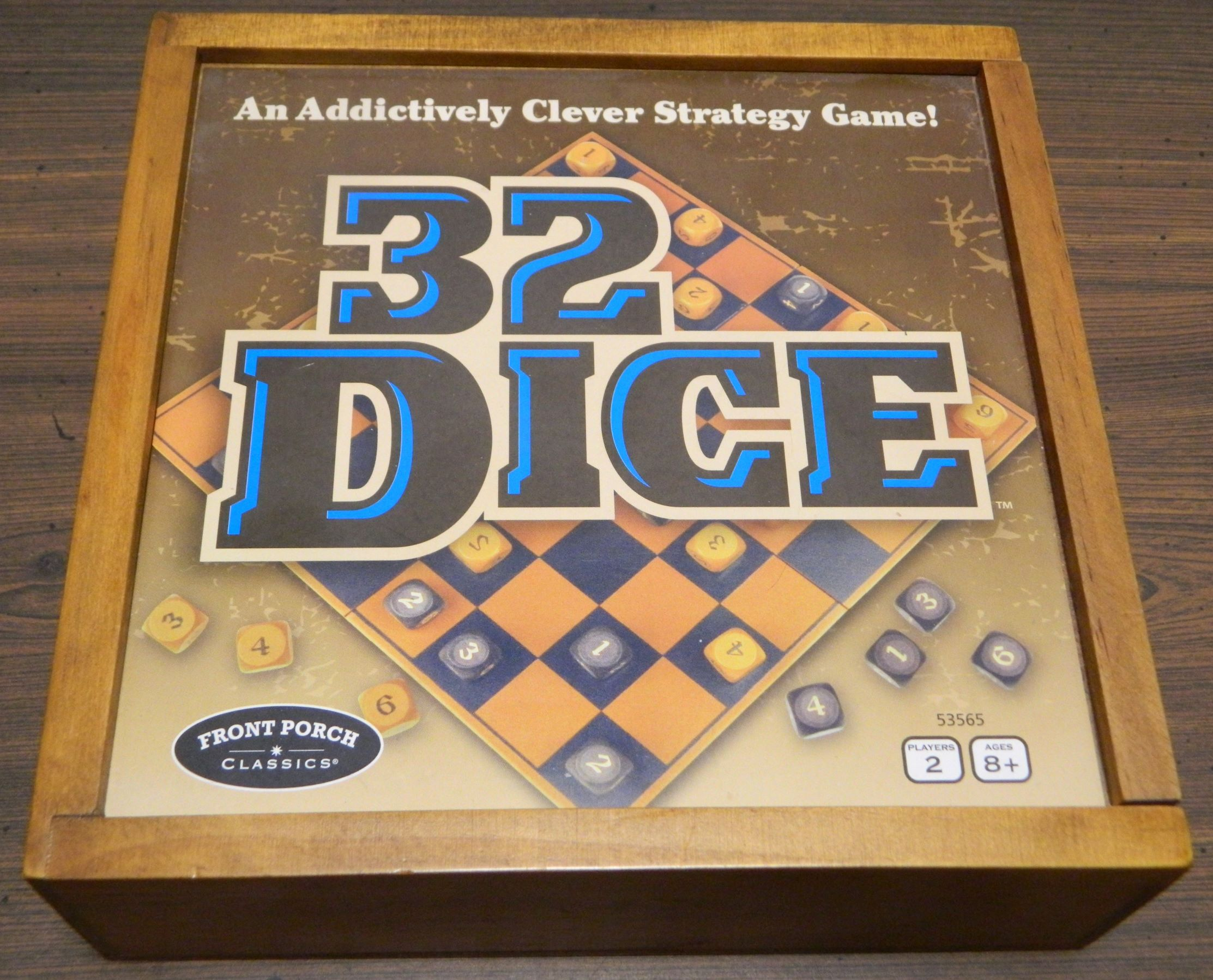 Box for 32 Dice