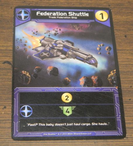 Ship Card in Star Realms