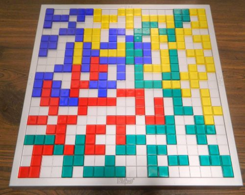 Finished Board in Blokus