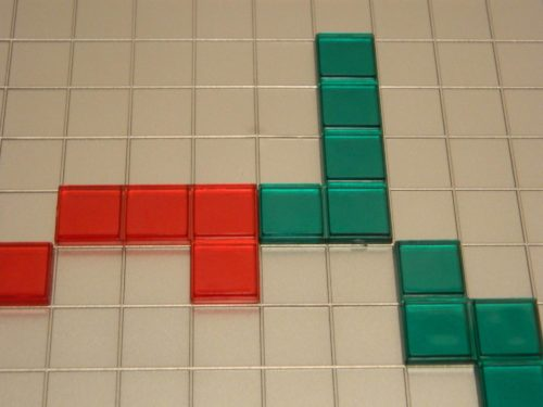 Playing Tiles Against Opposite Color in Blokus