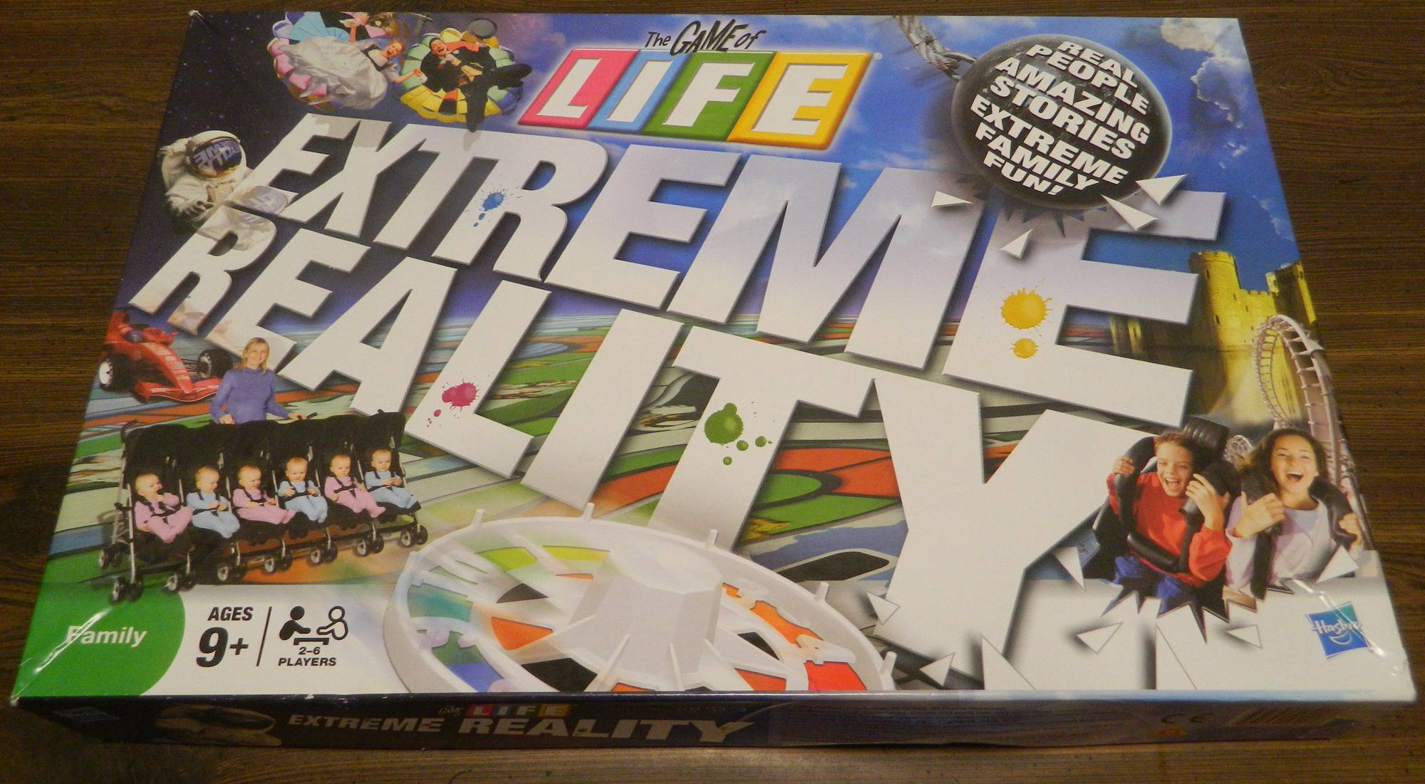 The Game of Life: Extreme Reality Board Game Review and