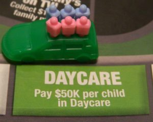 Daycare Space in Game of Life: Extreme Reality