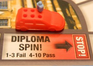 Diploma Space in Game of Life: Extreme Reality