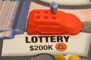 Lottery Space in Game of Life: Extreme Reality