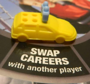 Swap Careers Space in Game of Life: Extreme Reality