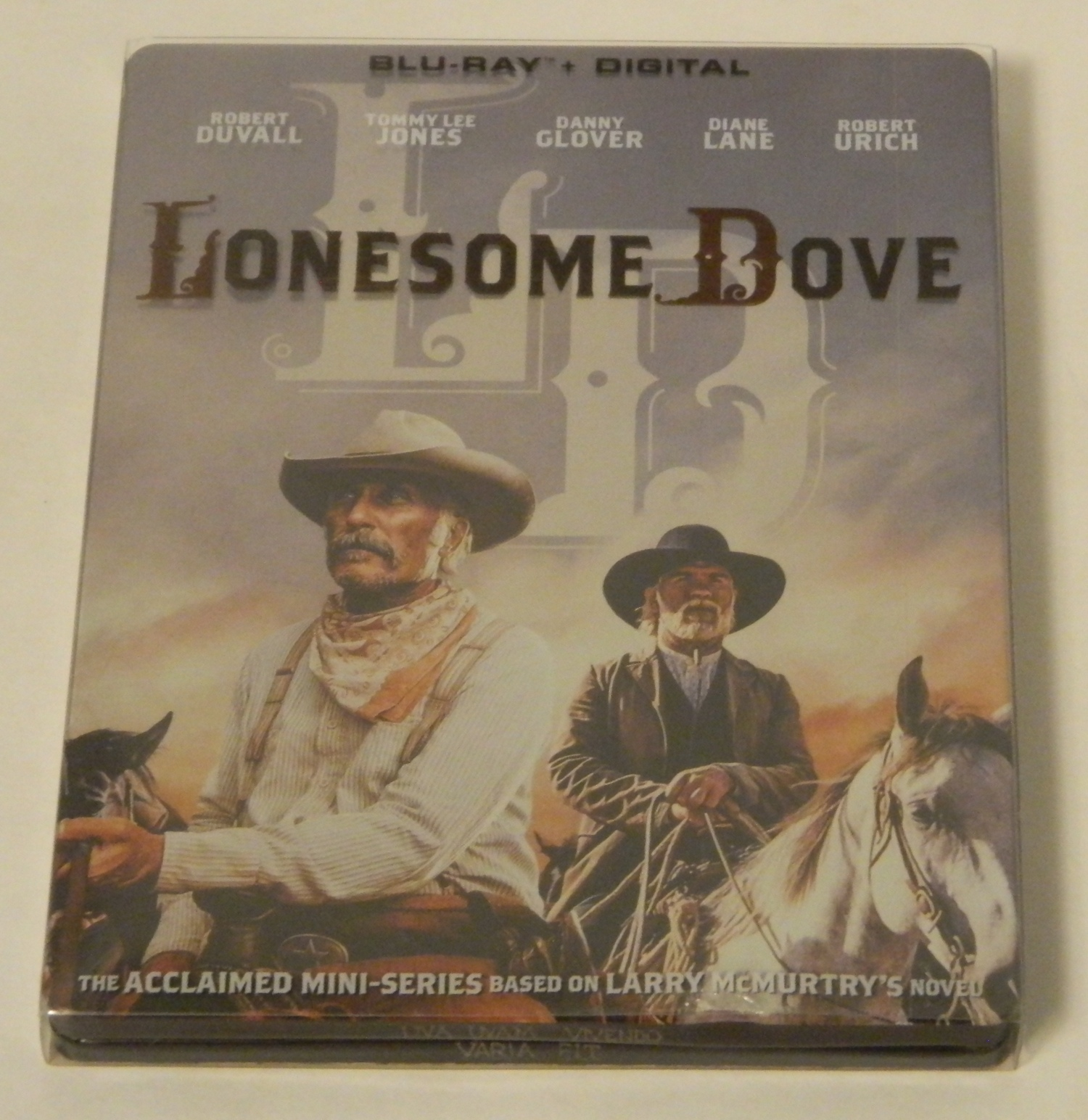 Lonesome Dove Steelbook Blu-ray
