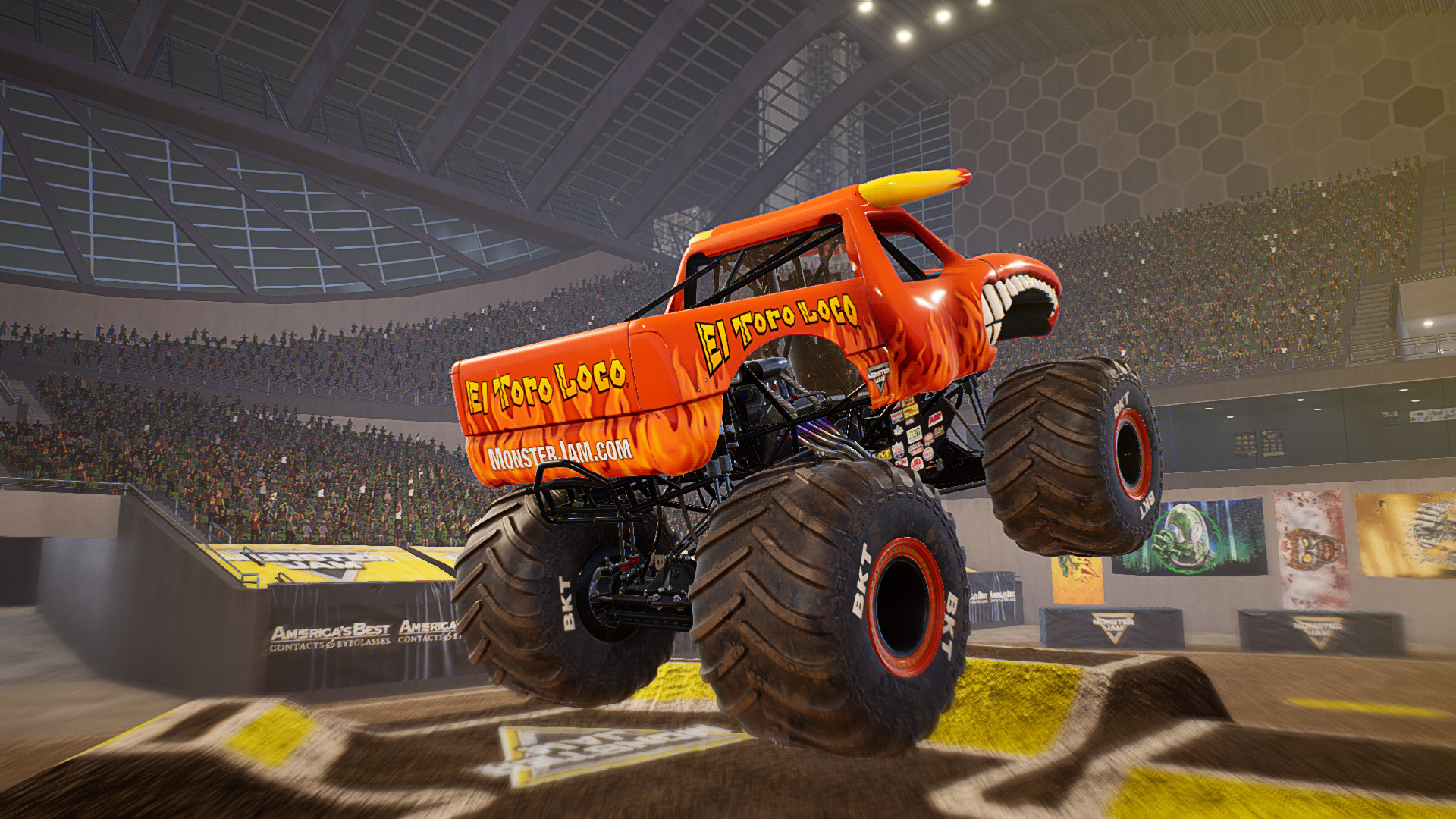 Monster Jam Steel Titans Video Game Review Geeky Hobbies