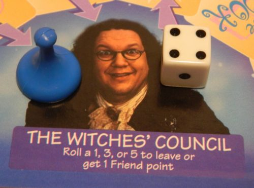 Witches' Council in Sabrina The Teenage Witch Game