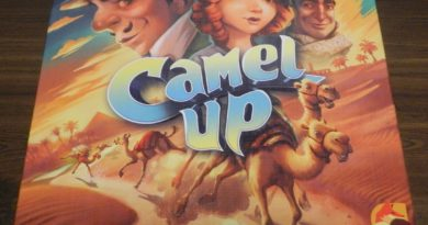 Camel Up Board Game Review and Rules