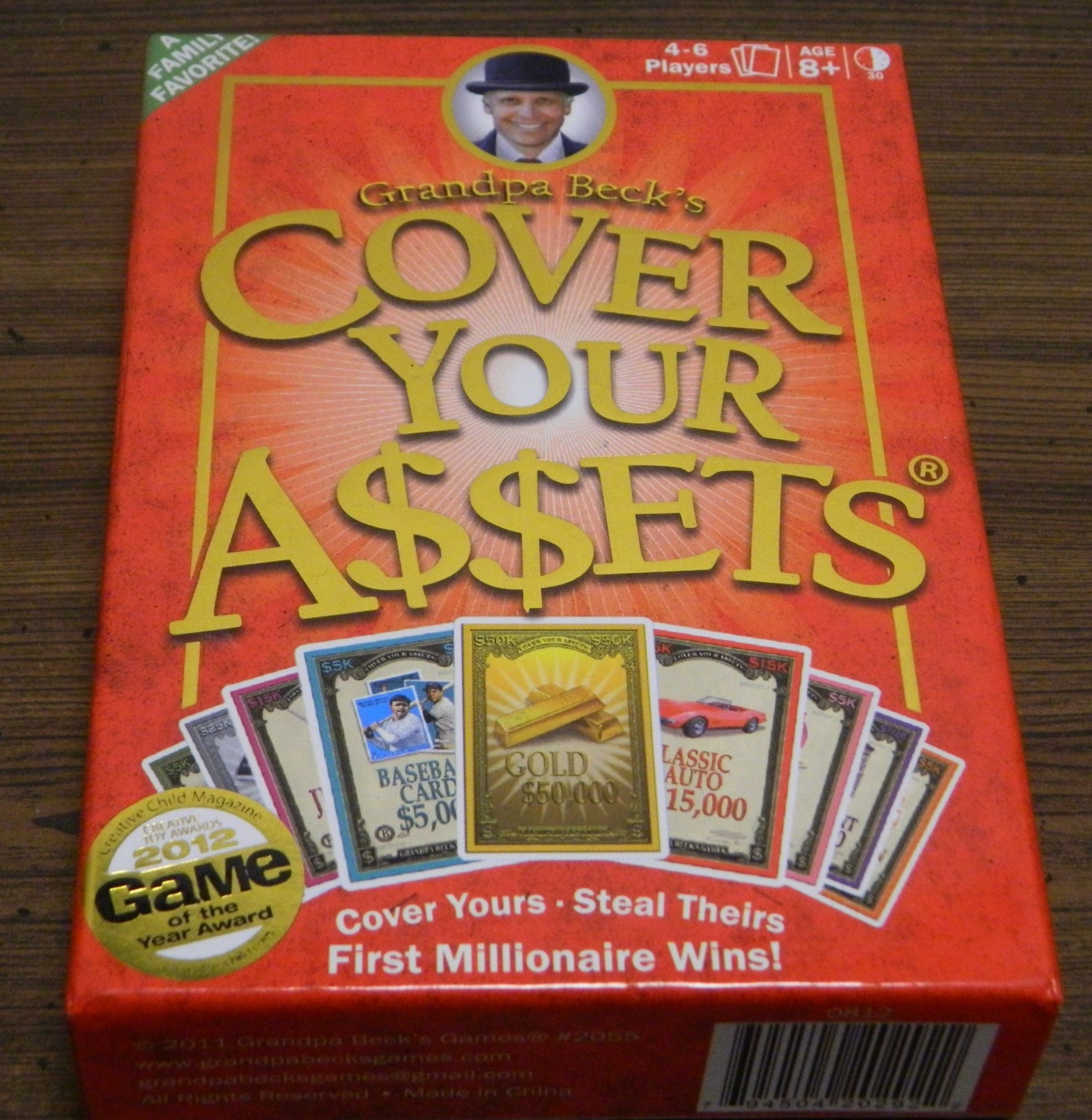 Box for Cover Your Assets
