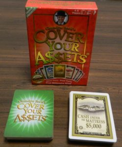 Cover Your Assets Card Game Review And Rules Geeky Hobbies