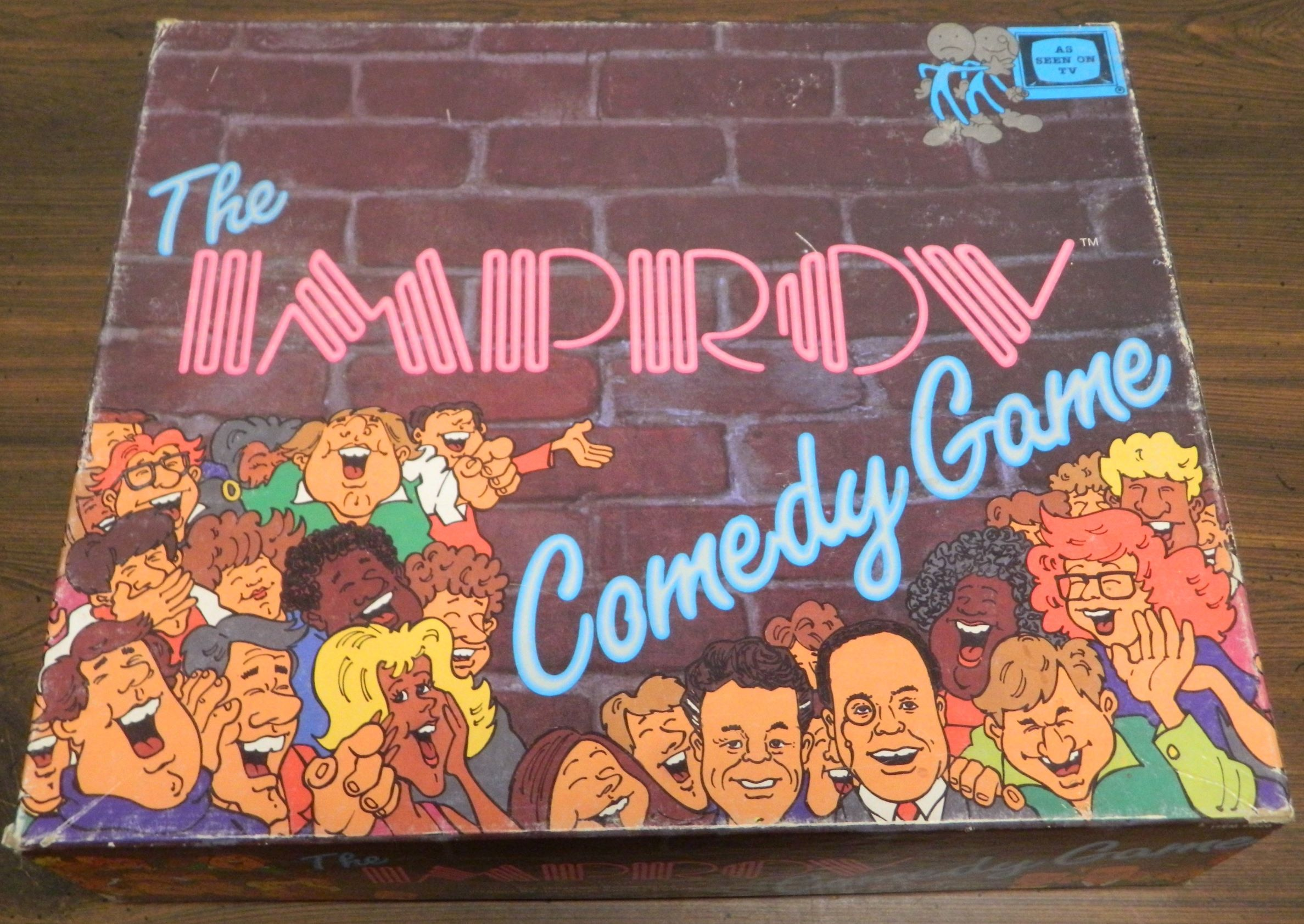 Box Improv Comedy Game