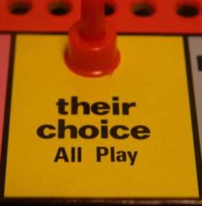 Their Choice in Improv Comedy Game