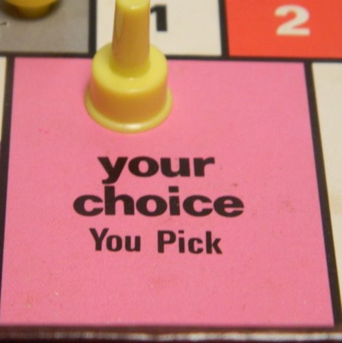 Your Choice in Improv Comedy Game
