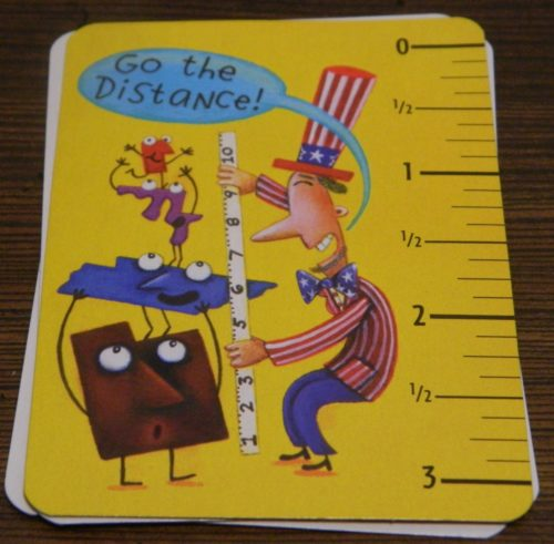 Go The Distance Card in Scrambled States of America Game
