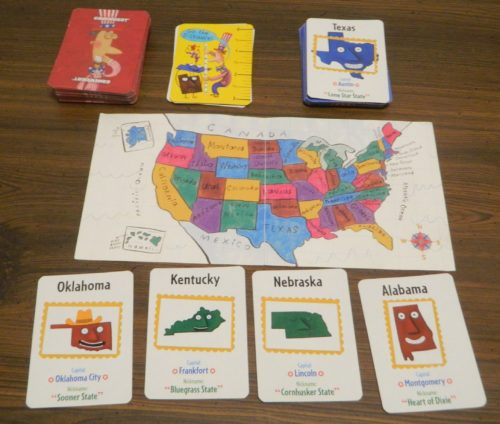 Go the Distance Card in Scrambled States of America