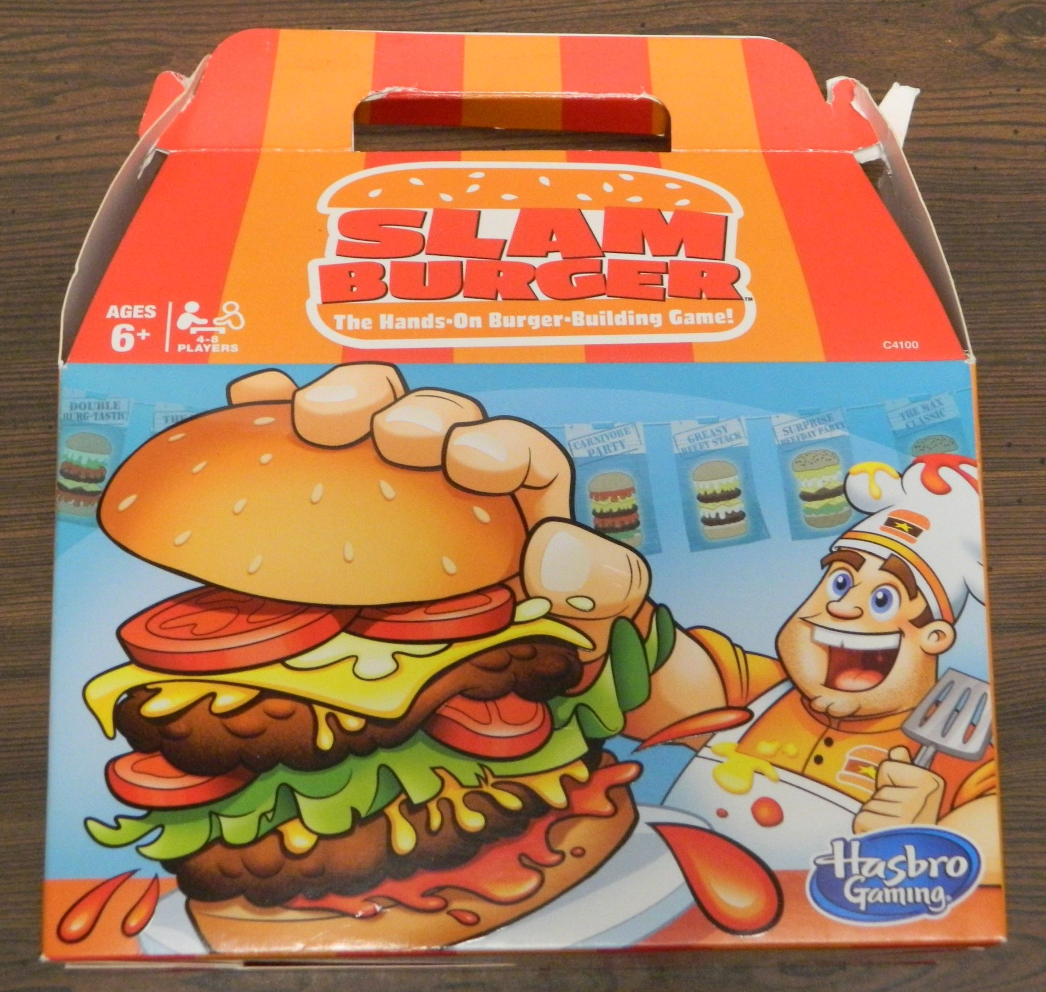 Box for Slam Burger
